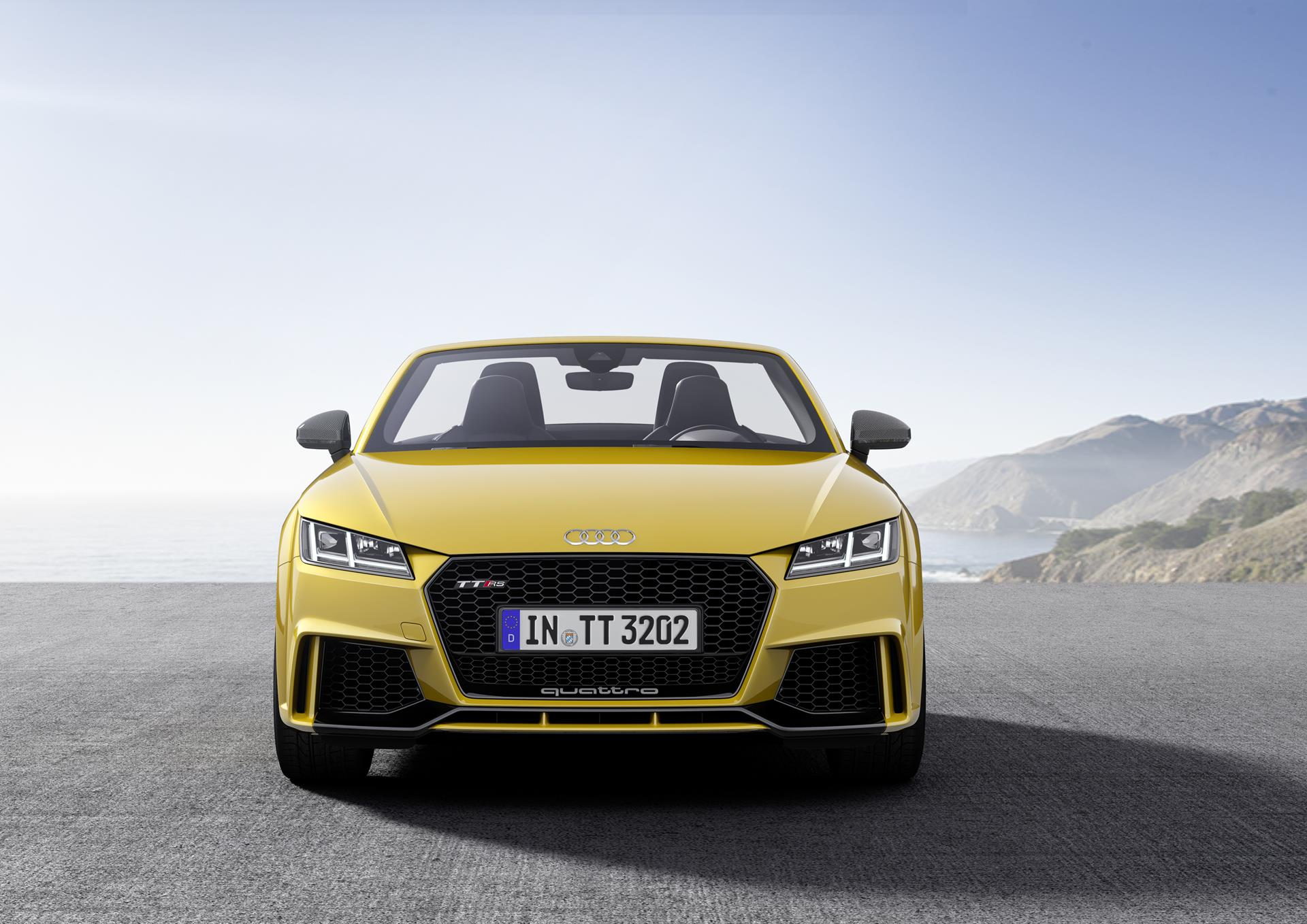 Audi has built a lighter and more powerful version of the TT coupe