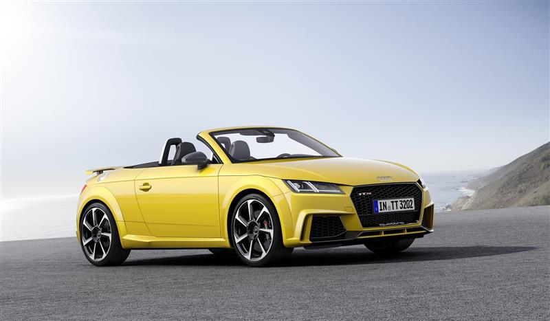 2017 Audi Tt Rs Roadster Image Photo 37 Of 38
