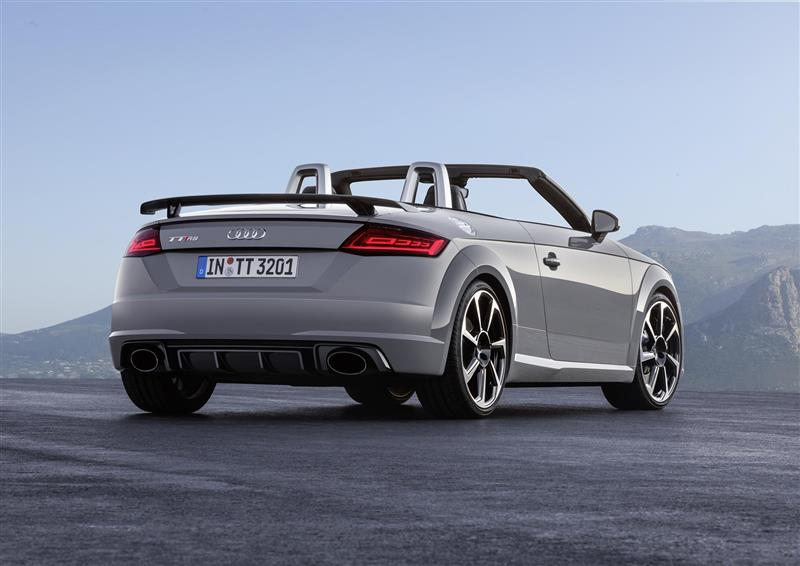 2017 Audi Tt Rs Roadster Image Photo 14 Of 38