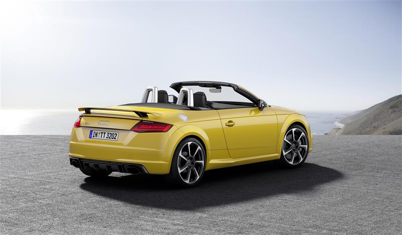 2017 Audi Tt Rs Roadster Image Photo 35 Of 38