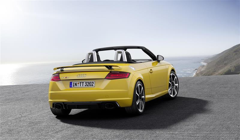 2017 Audi Tt Rs Roadster Image Photo 34 Of 38