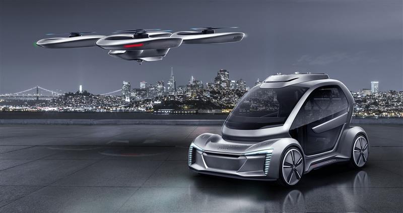 2018 Audi Pop.Up Next Concept