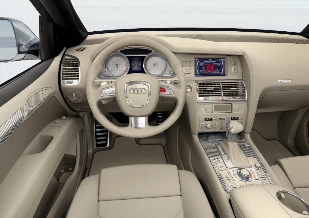 Auction Results and Sales Data for 2007 Audi Q7 V12 TDI Concept