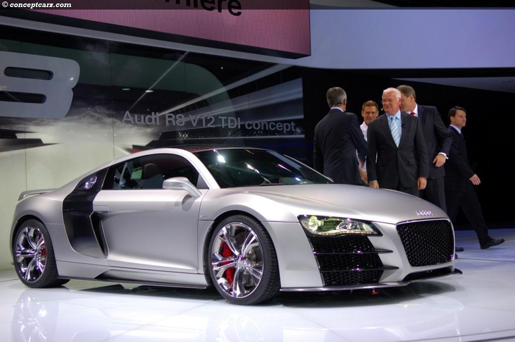 2008 Audi R8 V12 Tdi Concept Image Https Www