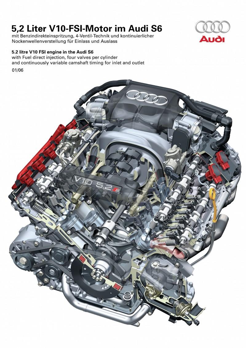 2007 Audi S6 Image Photo 6 Of 18 5 2 Engine Diagram