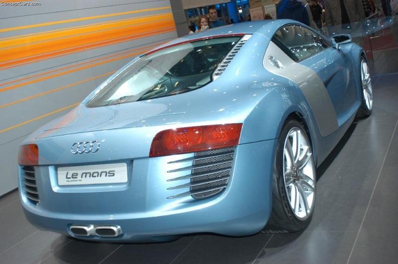 2003 Audi Le Mans Quattro Concept History Pictures Value Auction