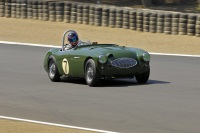 1955 Austin-Healey 100S.  Chassis number AHS3805