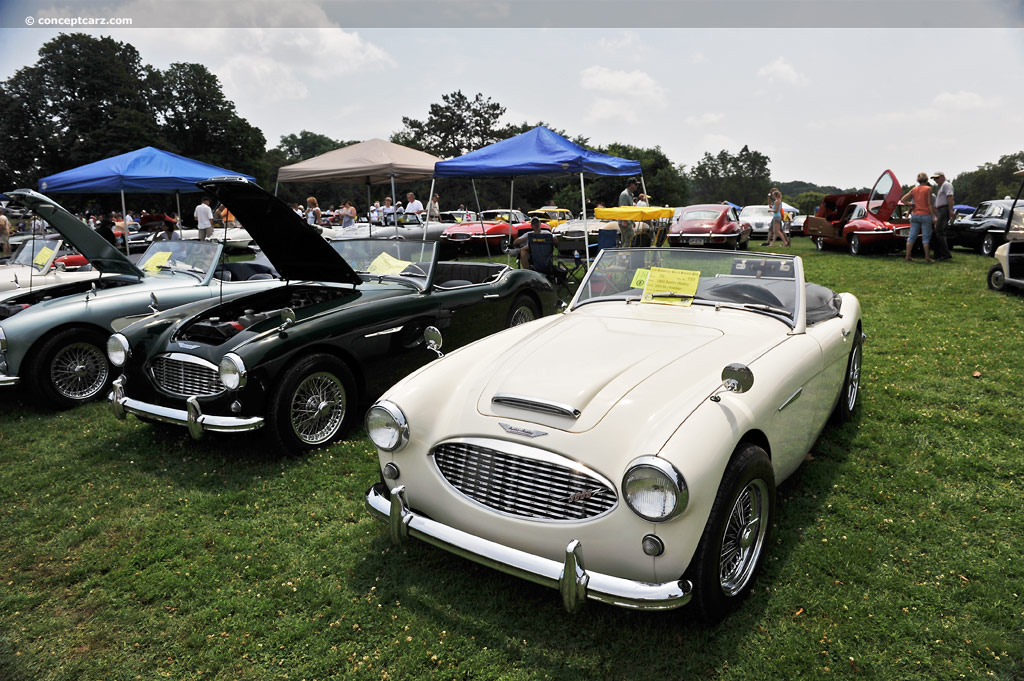 1960 austin healey 3000 mki at the pittsburgh vintage grand prix car show. Black Bedroom Furniture Sets. Home Design Ideas