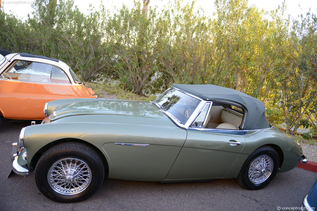 1965 Austin-Healey 3000.  Chassis number H-BJ8-L/27207