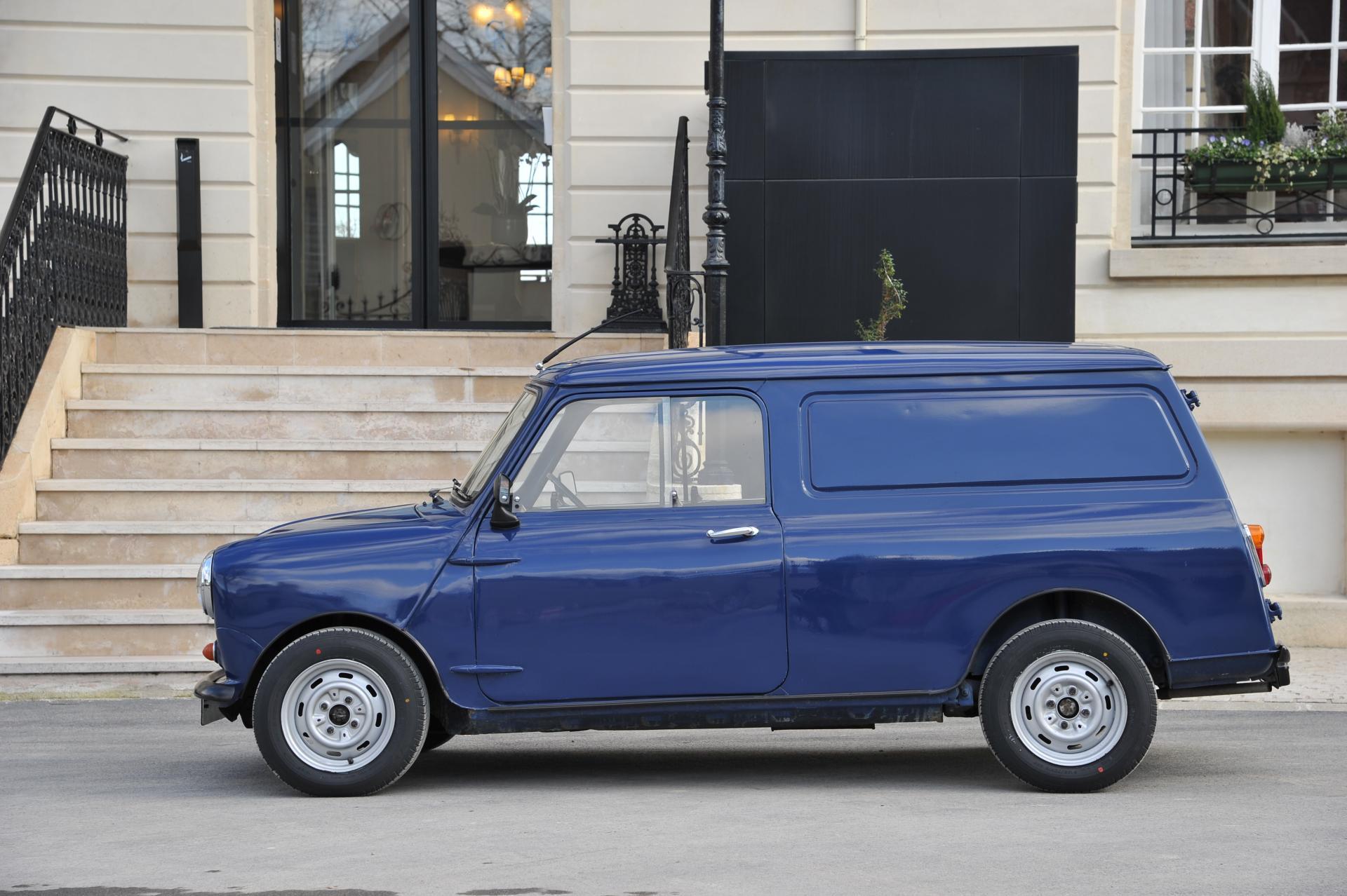 1982 Austin Mini Van Conceptcarzcom