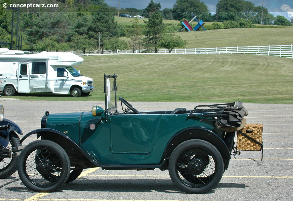 1924 Austin Seven History, Pictures, Sales Value, Research and News