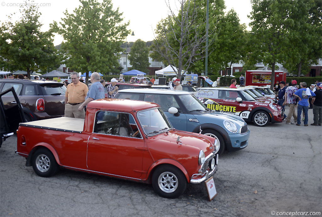 Auction Results And Sales Data For 1962 Austin Mini Cooper Pickup