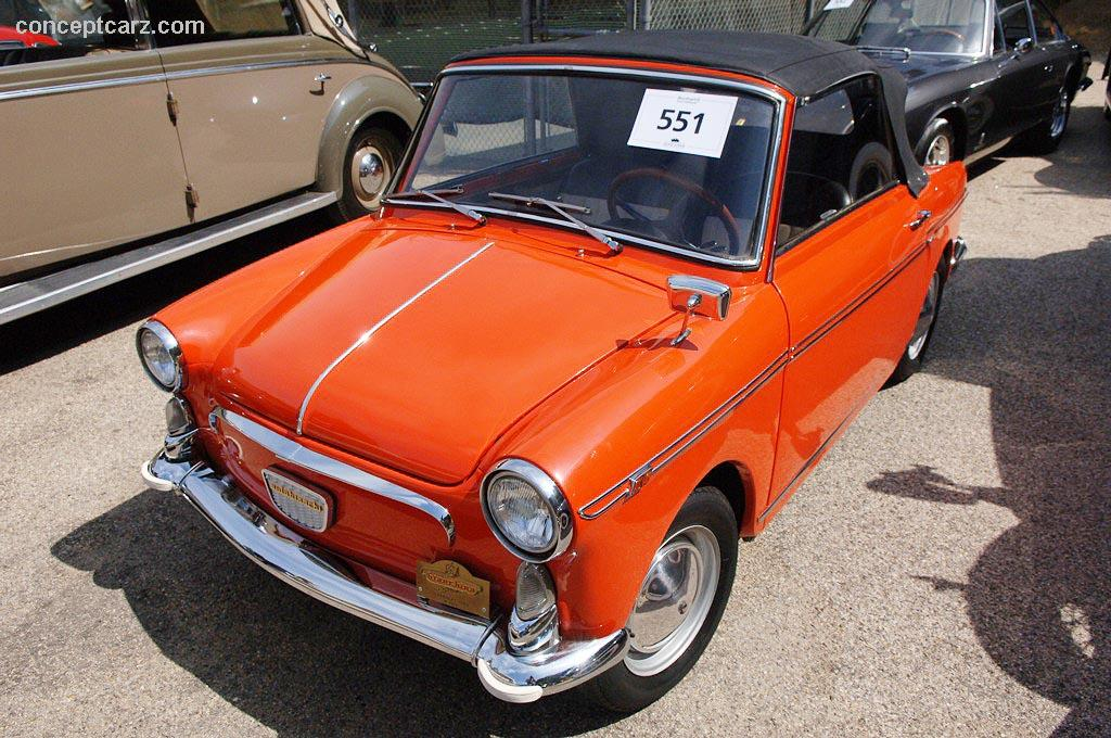 1960 Autobianchi Bianchina Image. Chassis Number 00892
