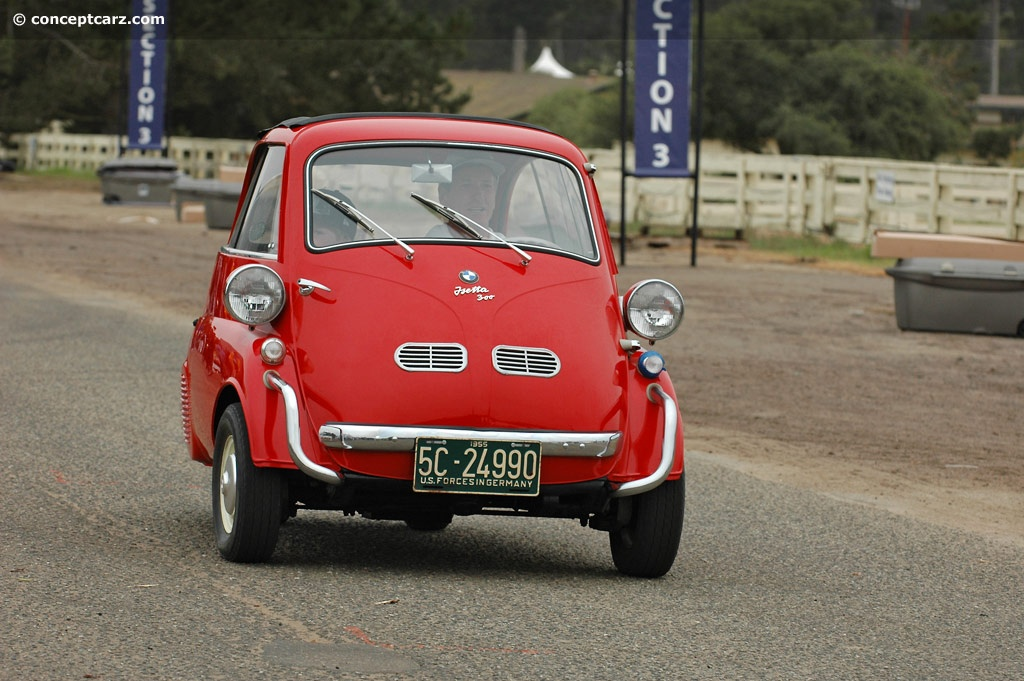 1956 BMW Isetta Pictures, History, Value, Research, News