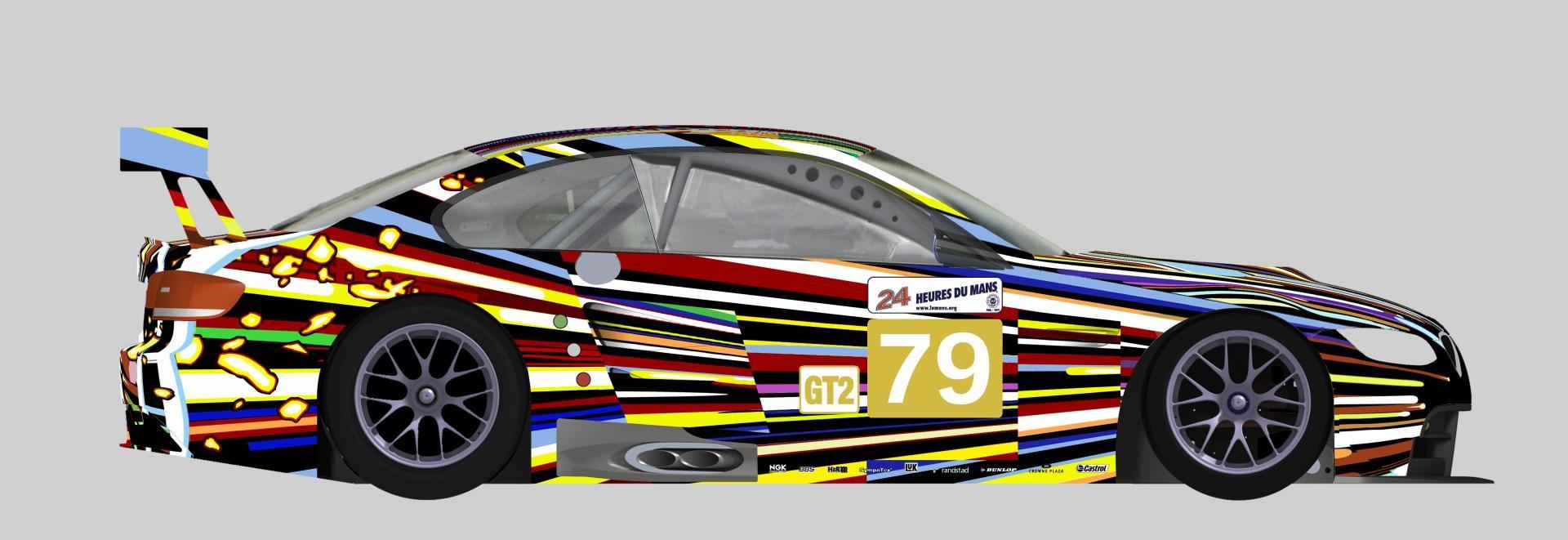 2010 Bmw M3 Gt2 Art Car News And Information Com