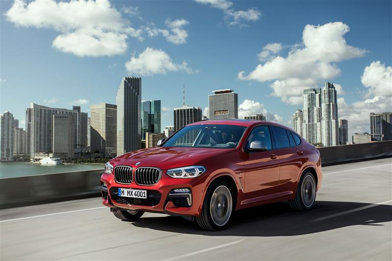2019 BMW X4 M40d pictures and wallpaper
