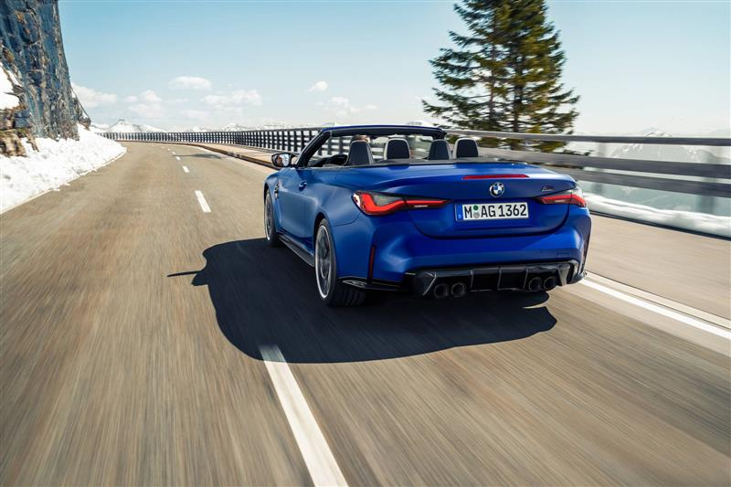2022 BMW M4 Competition Convertible