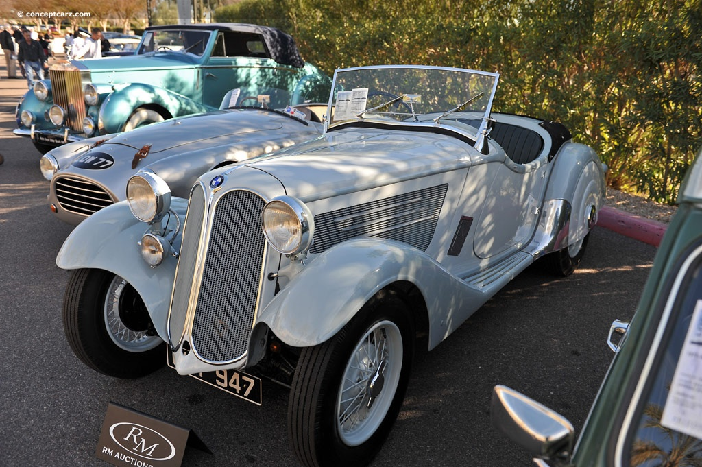 1935 BMW 319 Image. Chassis number 55084. Photo 14 of 14