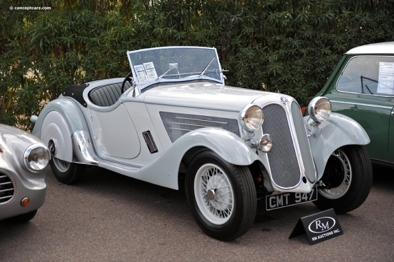 Chassis 55084. 1935 BMW 319 chassis information
