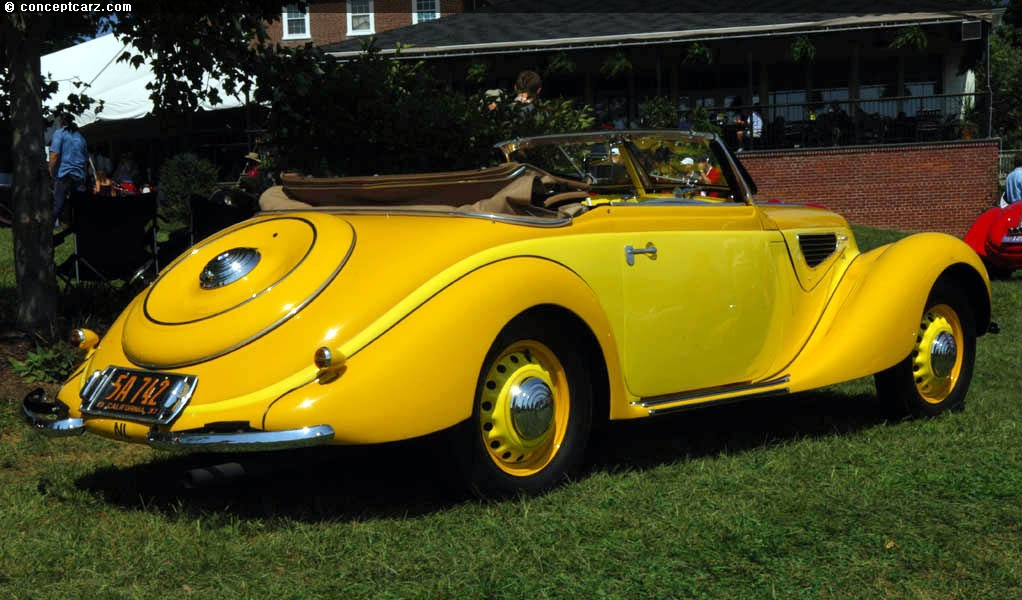 1938 BMW 328 at the Radnor Hunt Concours d'Elegance