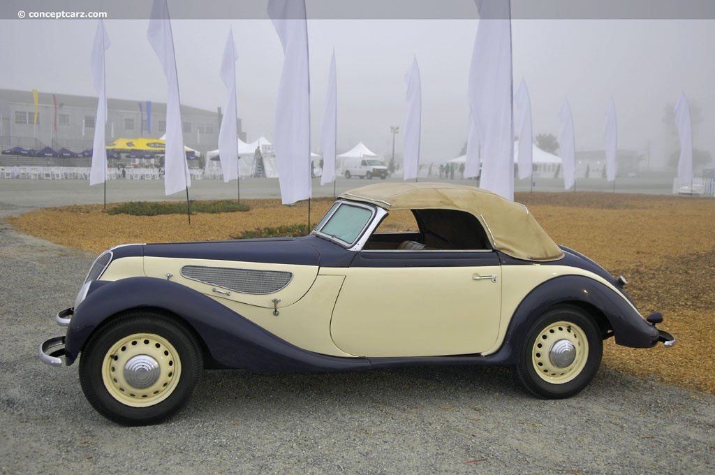 Auction Results and Sales Data for 1938 BMW 327