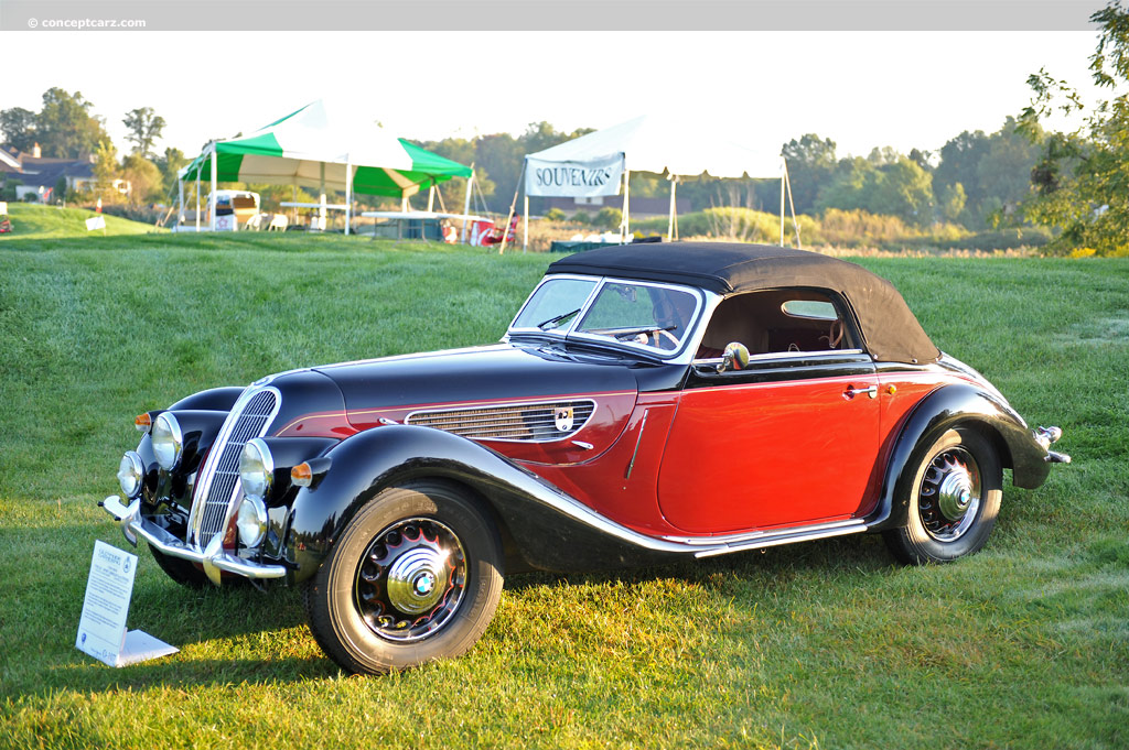 1938 bmw 327 at the glenmoor gathering of significant. Black Bedroom Furniture Sets. Home Design Ideas