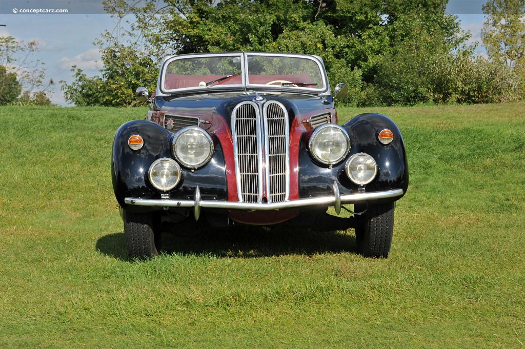1938 BMW 327