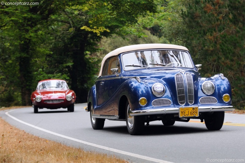 1956 BMW 502 Pictures, History, Value, Research, News - conceptcarz.com