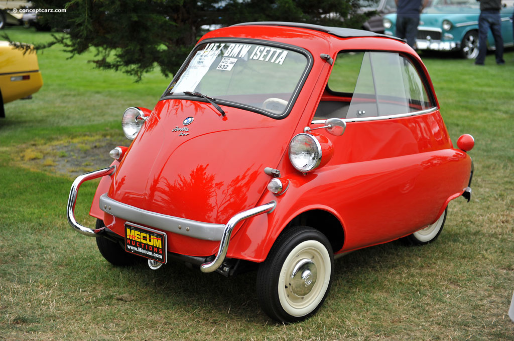 Auction Results and Sales Data for 1957 BMW Isetta