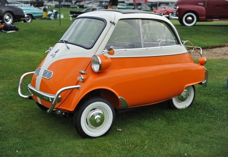 1957 Bmw Isetta History Pictures Value Auction Sales