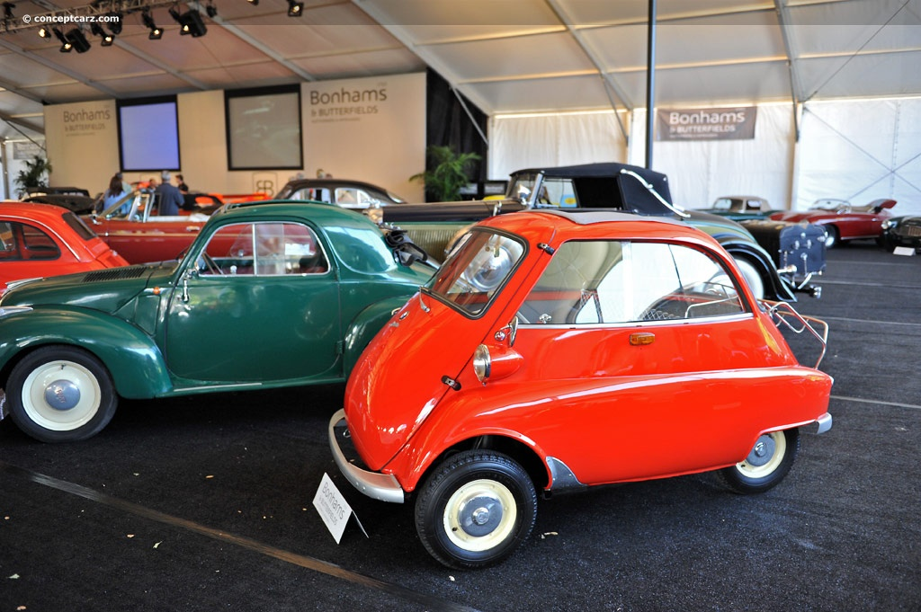 Auction Results And Data For 1959 Bmw Isetta 300 Conceptcarz Com
