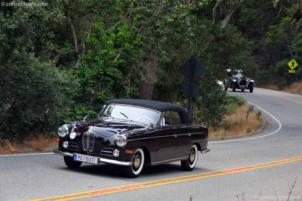 Auction Results and Sales Data for 1960 BMW 3200 Super