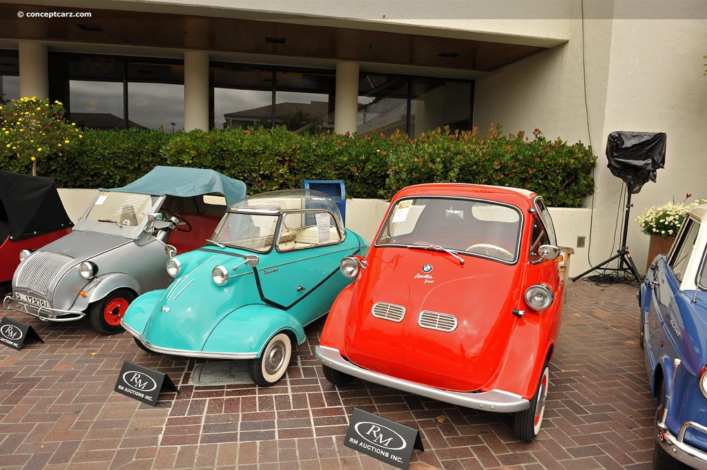 BMW Isetta Pictures History Value Research News - 300 bmw