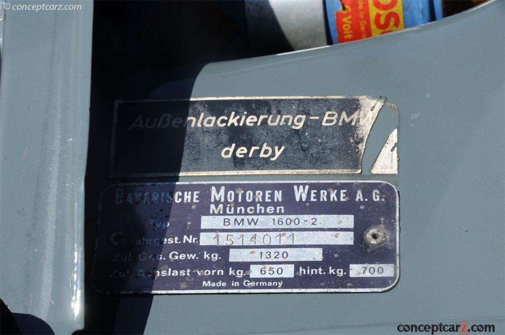 1967 BMW 1600