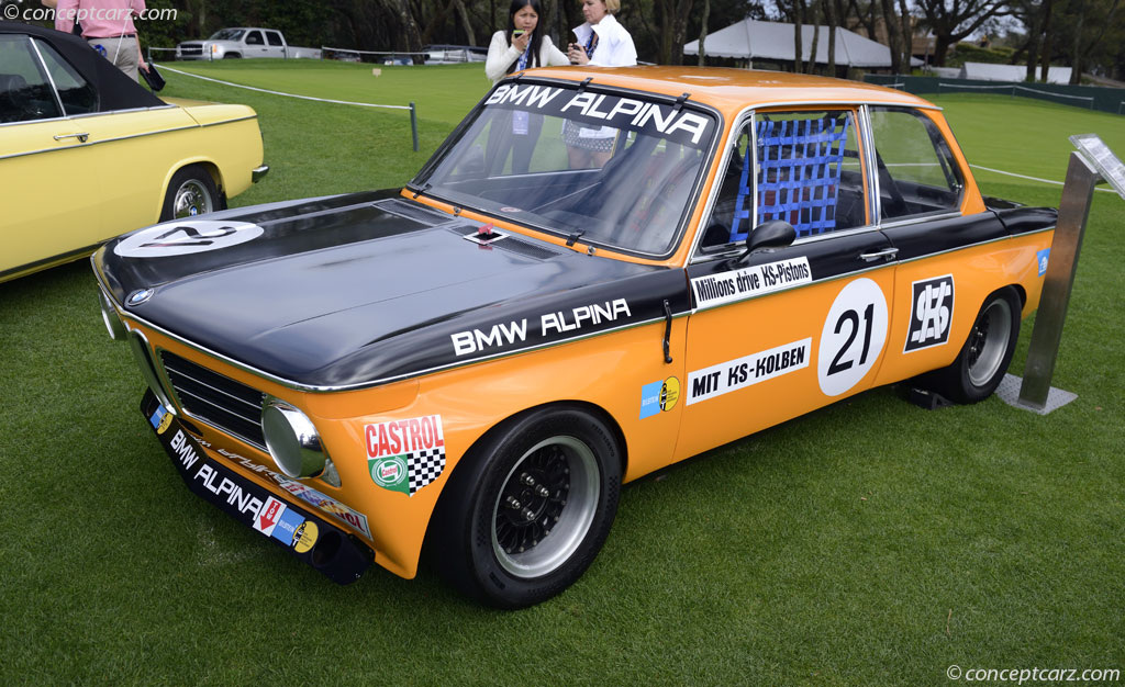 1970 Bmw 2002 Image Chassis Number 2628020