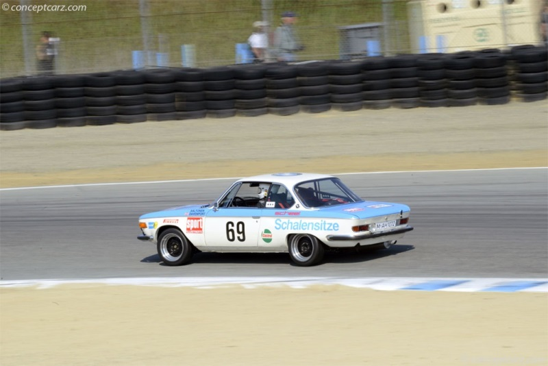 1971 BMW 3.0 CSL Image. Chassis number 2211342