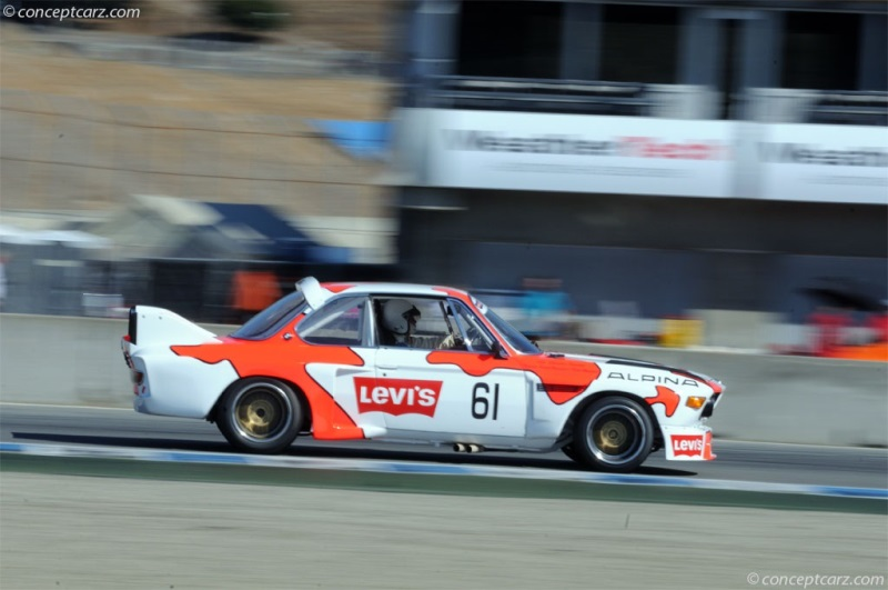 1971 BMW 3.0 CSL Image. Chassis number 2211352