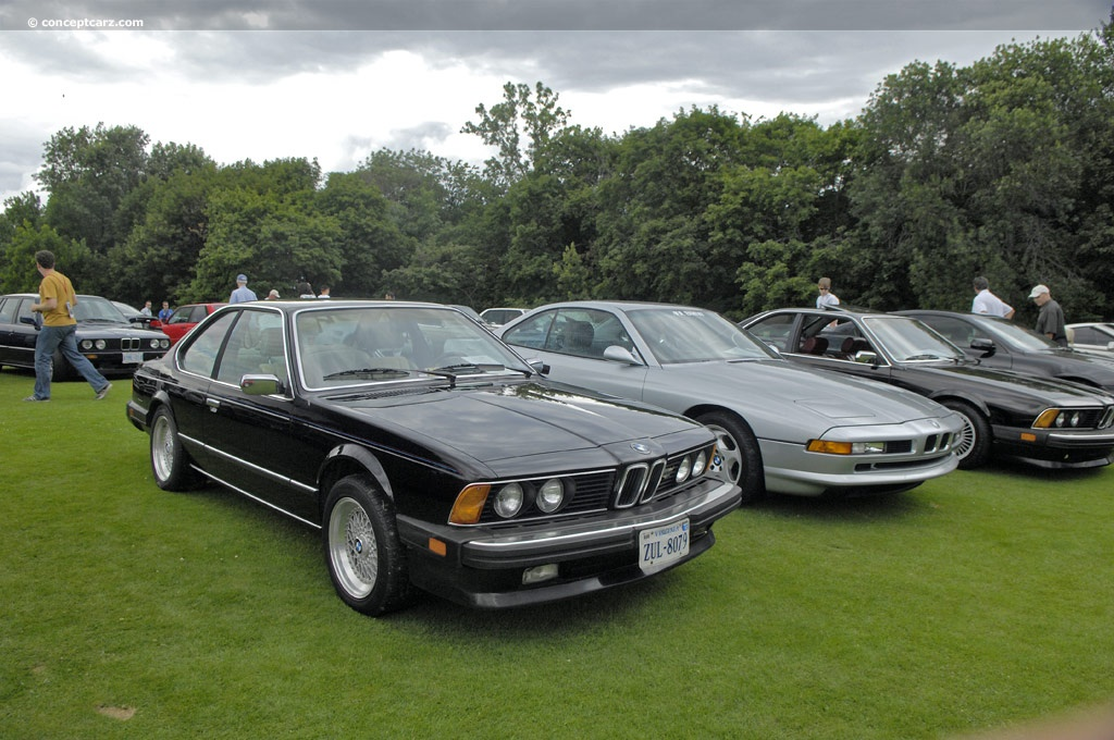 Auction Results and Sales Data for 1986 BMW 635CSi