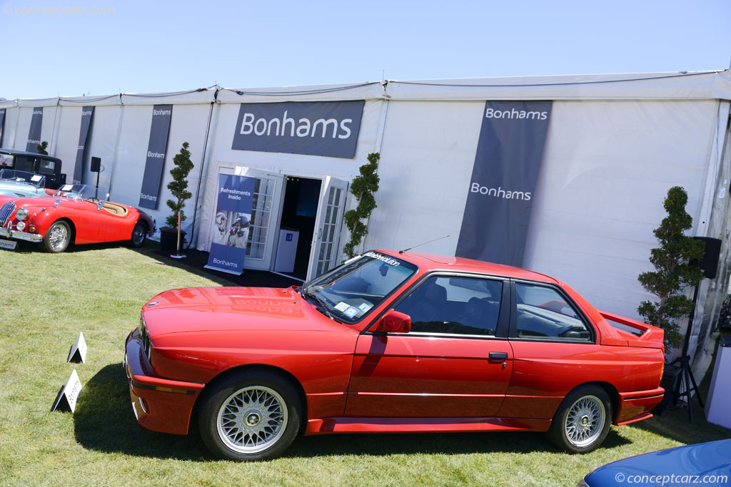 1989 BMW E30 M3.  Chassis number WBSAK0300K2198332