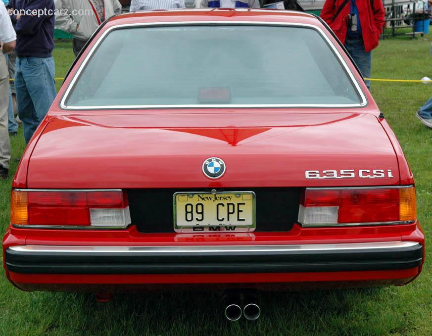 1989 BMW 635 CSi Image Httpswwwconceptcarzcomimages