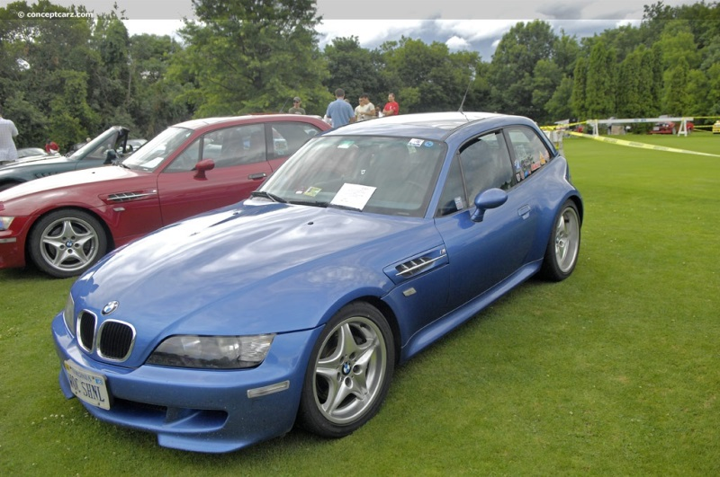 1999 BMW M Coupe chassis information.