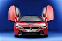 2016 BMW i8 Protonic Red Edition image.