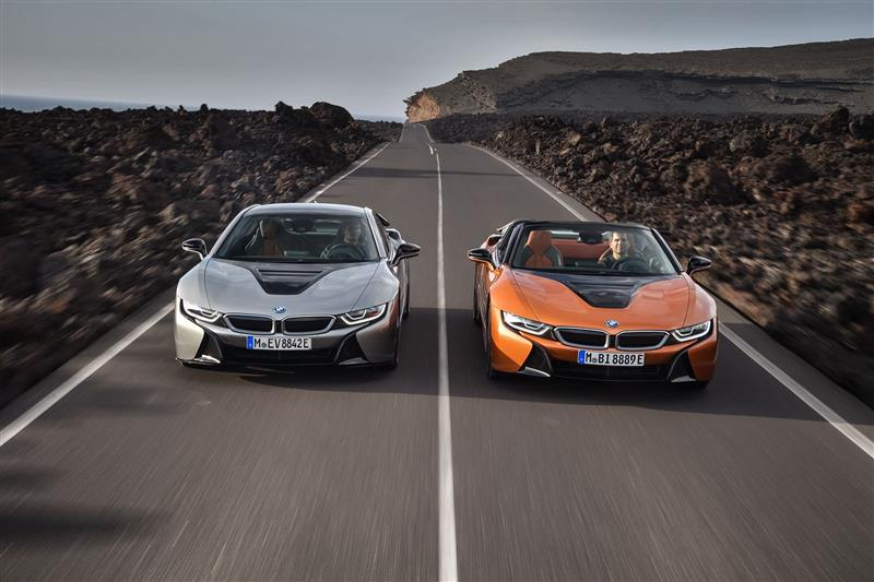 2018 Bmw I8 Coupe News And Information Conceptcarz Com