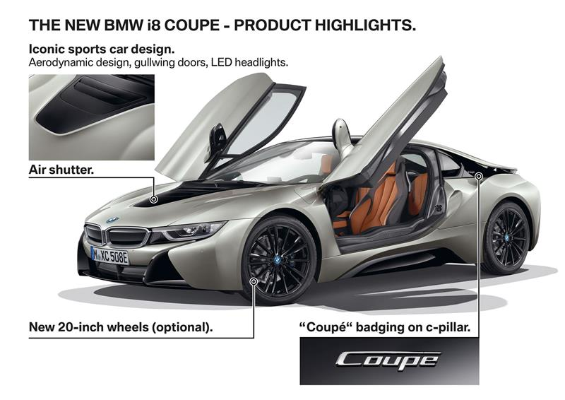 2018 BMW i8 Coupe Image. Photo 11 of 13