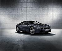 2016 BMW i8 Protonic Dark Silver Edition image.