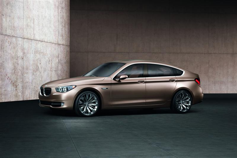 2009 BMW Concept 5 Series Gran Turismo News and Information ...