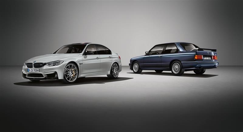 2016 BMW M3 30 Jahre Edition