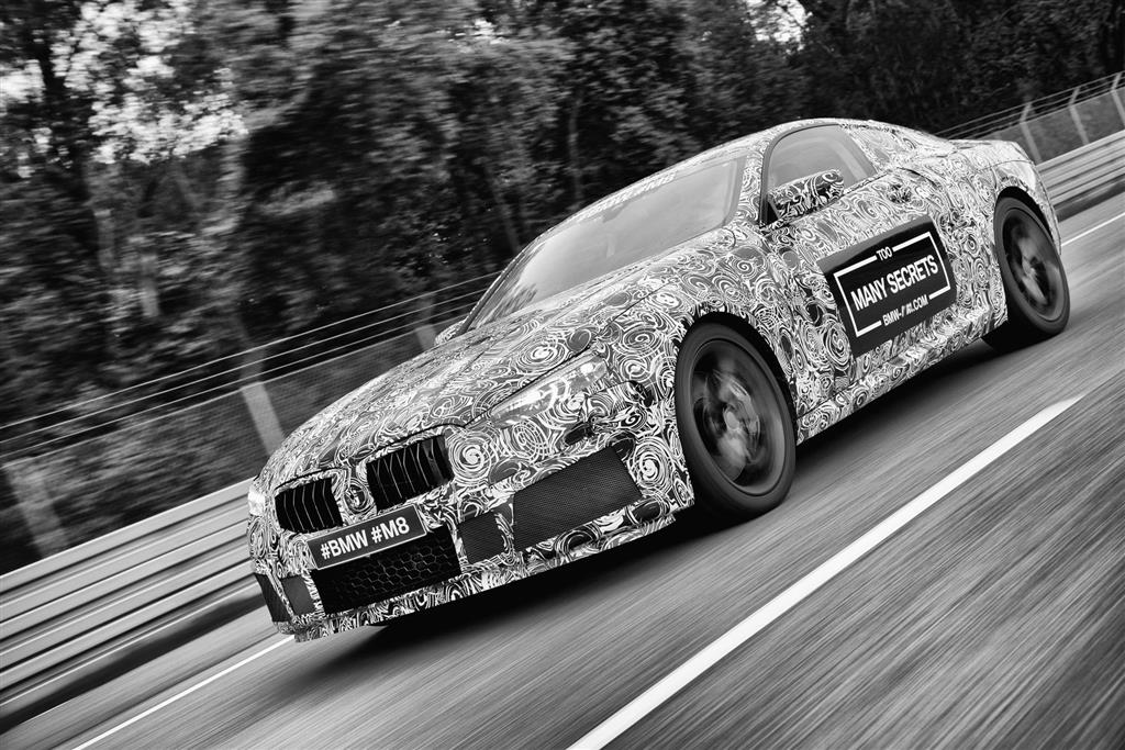 BMW M8 Prototype pictures and wallpaper
