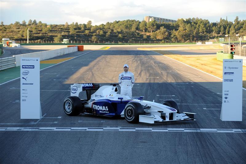 2009 BMW Sauber F1.09