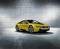 2017 BMW i8 Frozen Yellow Edition image.